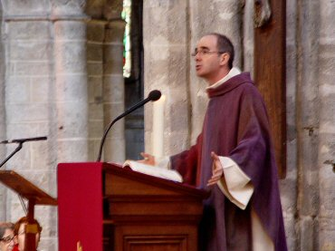 Sermon du Père Laurent Percerou